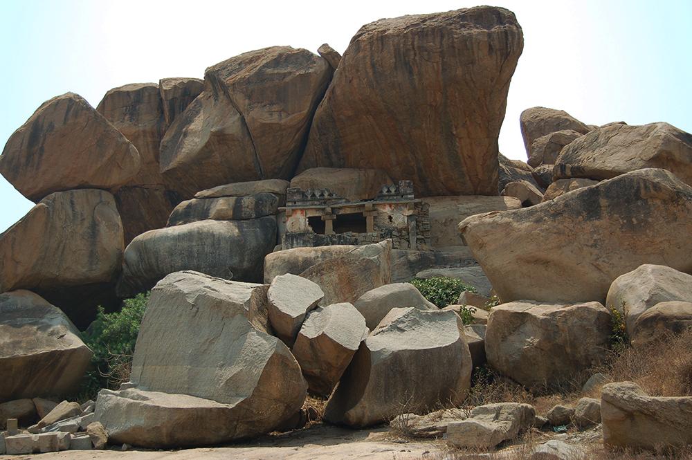 Град Хампи в Индия