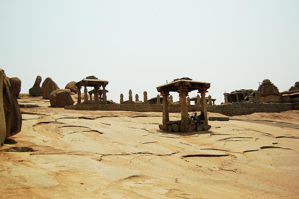 Храм Хампи в Индия